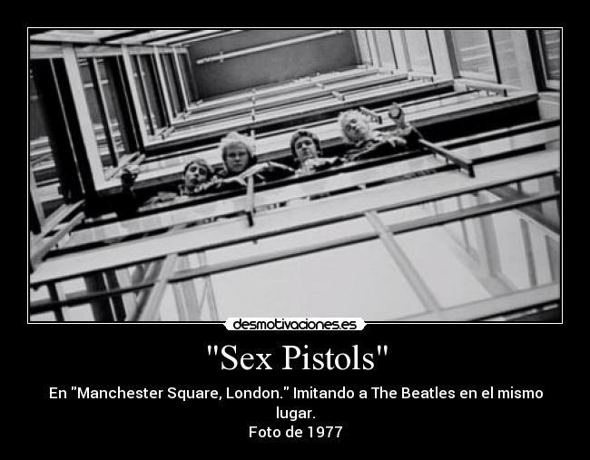Sex Pistols regerence sexe